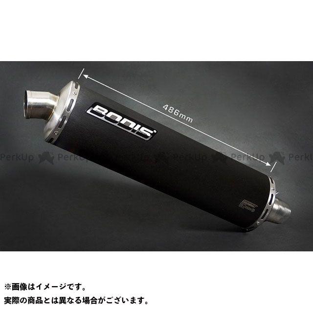 ボディス CB1300スーパーフォア(CB1300SF) オーバル 1OK スリップオン・ステンレスブラック|HCB1300-008 BODIS