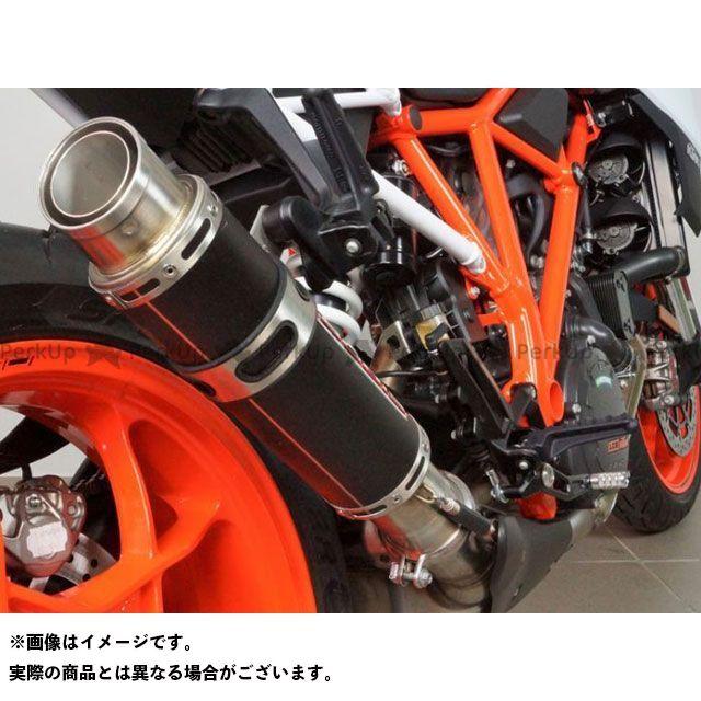 ボディス 1290スーパーデュークR GP1-RSN スリップオンマフラー ステンレスブラック|KTSD1290-028 BODIS