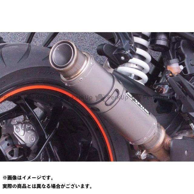 ボディス 1290 スーパーデュークGT 1290スーパーデュークR GP1-RSN スリップオン - セット ショート マフラー フルチタン|KTSD1290-021 BODIS