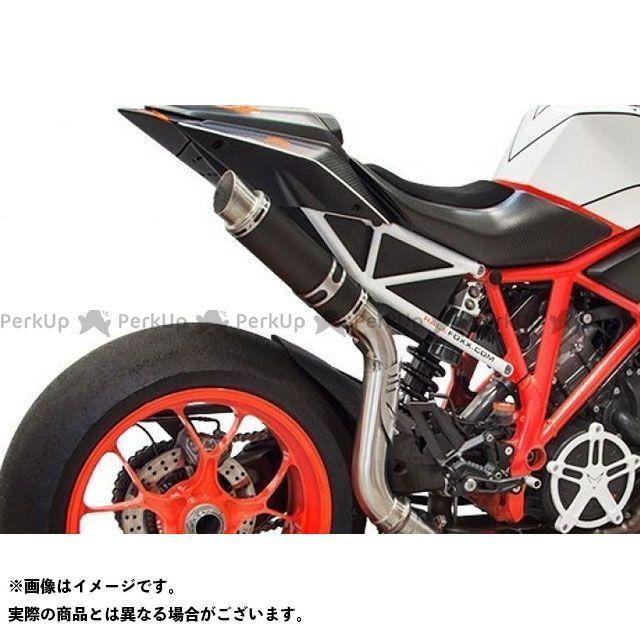 ボディス 1290スーパーデュークR GP1-RS Race Foxx-エディション スリップオン ハイ・ステンレスブラック|KTSD1290-003 BODIS