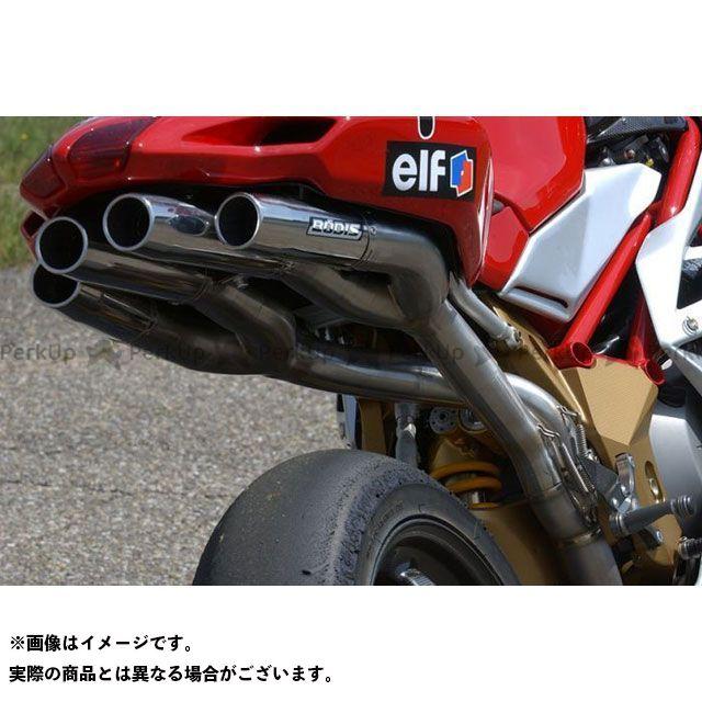 ボディス F4 フルエキゾーストシステム フルチタン Quattro FR Racing for F4(04-09) MF4-008 BODIS