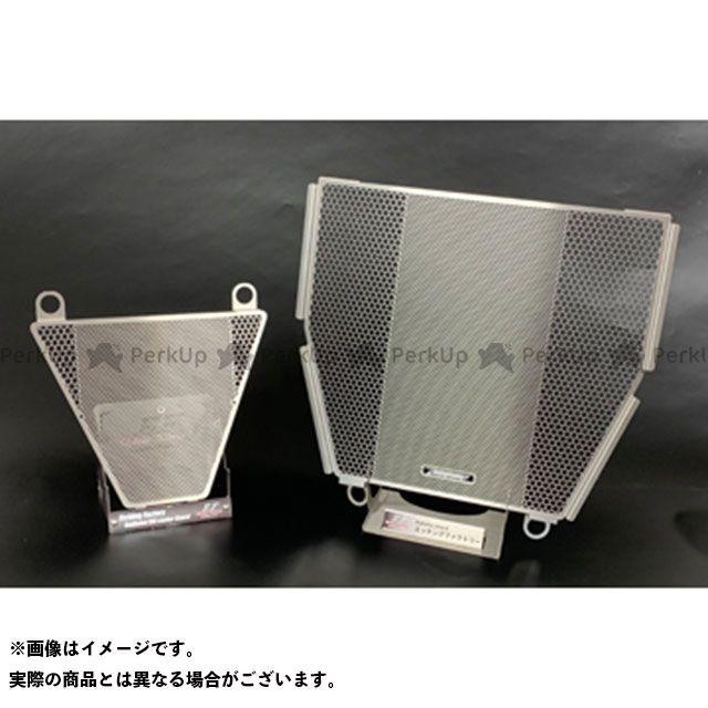 【特価品】エッチングファクトリー パニガーレV4 パニガーレV4S Panigale V4/V4S/V4R用ラジエター&オイルクーラーガードSET カラー:青エンブレム ETCHING FACTORY