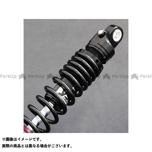 【エントリーで更にP5倍】YSS FLHX ストリートグライド Rod Line ZR366 300mm/11.8inc ボディカラー:ブラック スプリングカラー:ブラック YSS RACING