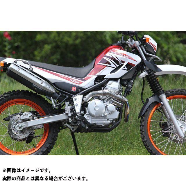 SP忠男 セロー250 トリッカー XG250 XT250X POWER BOX チタンパイプ チタンブルー スペシャルパーツタダオ