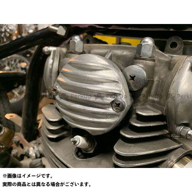 【エントリーで最大P23倍】部品屋K&W XS650E XS650タイミングカバー ブヒンヤケーアンドダブリュー