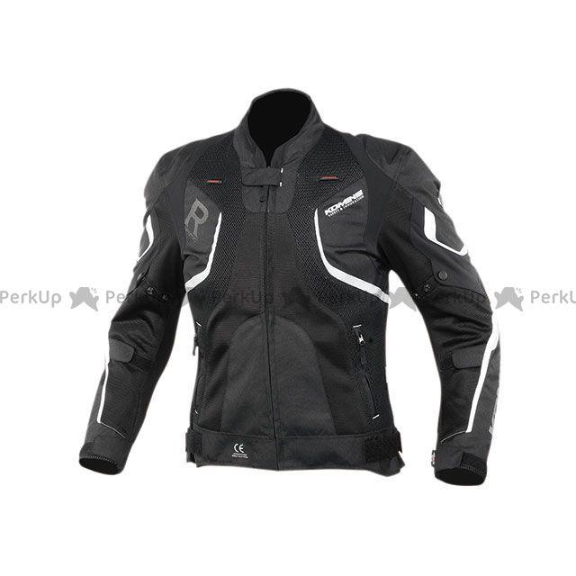 コミネ 2020春夏モデル JK-143 Rスペックメッシュジャケット(ブラック) M KOMINE