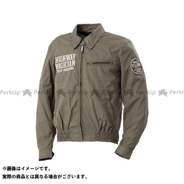 イエローコーン 2020春夏モデル YB-0100 コットンジャケット(カーキ) M YeLLOW CORN