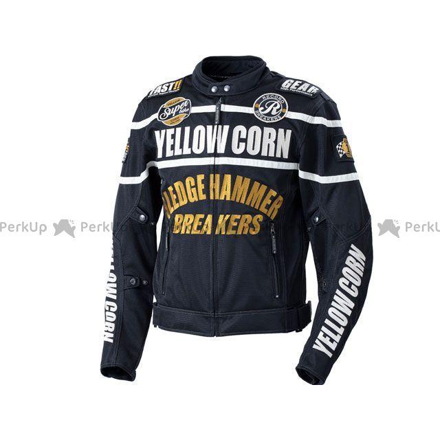 イエローコーン YeLLOW CORN メッシュグローブ グローブ イエローコーン 2020春夏モデル BB-0108 メッシュジャケット(ブラック/アイボリー) M YeLLOW CORN