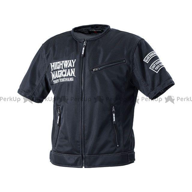 イエローコーン 2020春夏モデル YMT-002 プロテトメッシュTシャツ(ブラック/アイボリー) サイズ:M YeLLOW CORN
