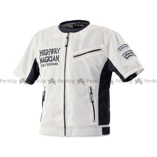 イエローコーン 2020春夏モデル YMT-002 プロテトメッシュTシャツ(アイボリー/ブラック) サイズ:3L YeLLOW CORN