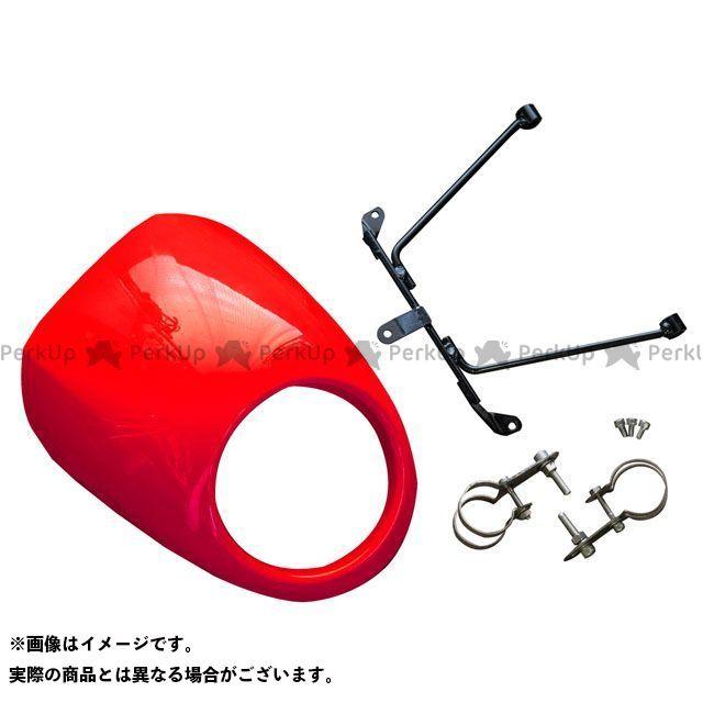 【特価品】ワールドウォーク レブル250 レブル500 レブル250/500用 ビキニカウル ヴィクトリーレッド WW