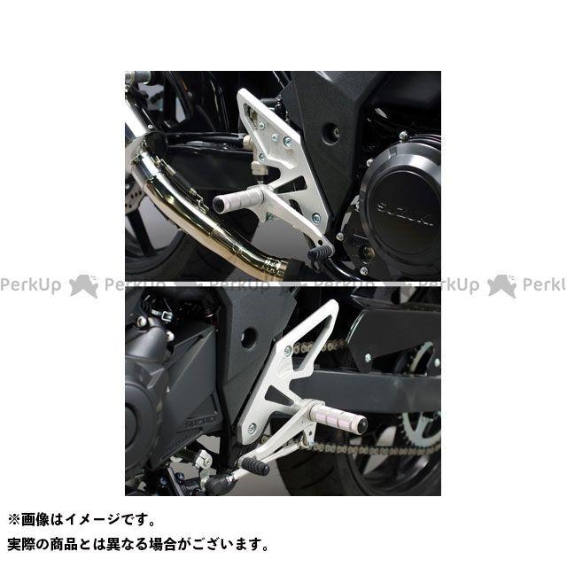 【特価品】WR'S GSX250R バトルステップ1ポジション シルバー WR'S