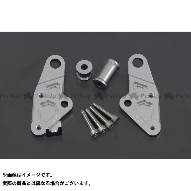 PMC エンジンマウントキット Z1 シルバー 後/2PC ピーエムシー
