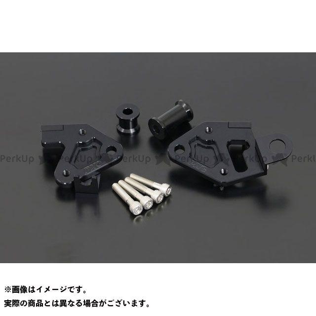 PMC エンジンマウントキット MKII 黒 後/2PC ピーエムシー