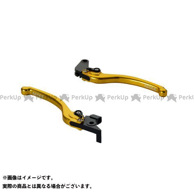 エフェックス トレーサー900・MT-09トレーサー スムースフィットレバー(ゴールド) EFFEX