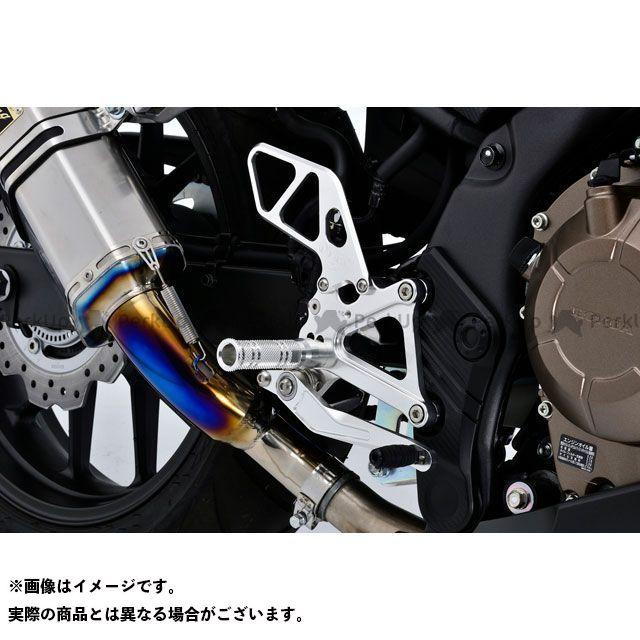 オーバーレーシング CBR400R CBR400R (16-) バックステップ(ブラック) OVER RACING
