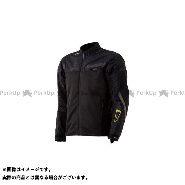 【無料雑誌付き】RSタイチ 2020春夏モデル RSJ326 レーサーメッシュジャケット for テック-AIR(リフレクディブ ブラック) サイズ:XL RSTAICHI