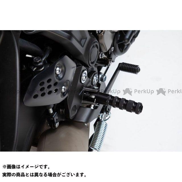 SWモテック MT-07 Racing フットレストキット -ブラック- Yamaha MT-07.|FRS.06.506.20100/B SW-MOTECH