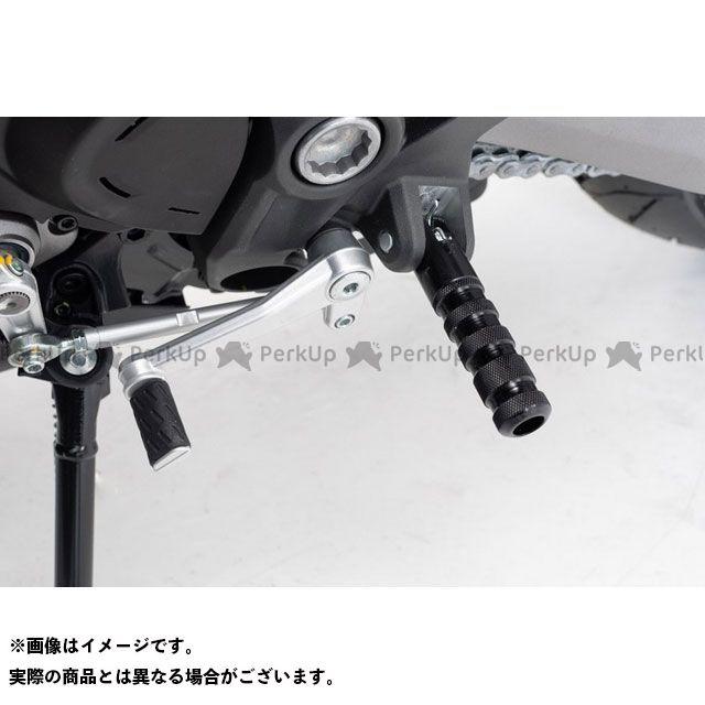 SWモテック モンスター821 スーパースポーツ Racing フットレストキット -ブラック- Ducati Monster 821(18-)/SuperSport(17-). FRS.22.506.2 SW-MOTECH