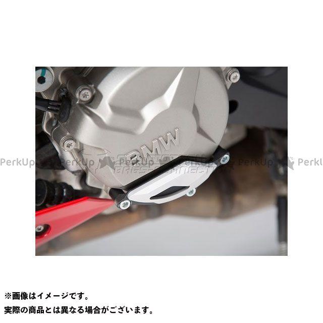 SWモテック S1000R S1000RR S1000XR エンジンケースプロテクター、ブラック/シルバー SW-MOTECH