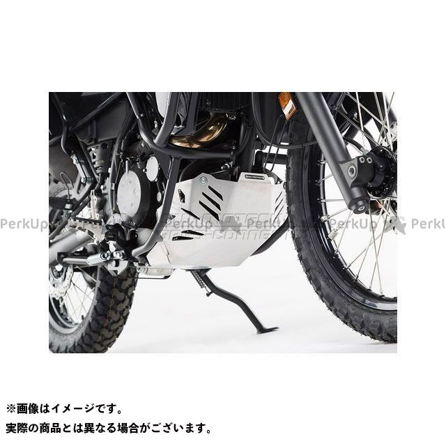 SWモテック KLR650 エンジンガード、ブラック KAWASAKI KLR 650(08-) SW-MOTECH