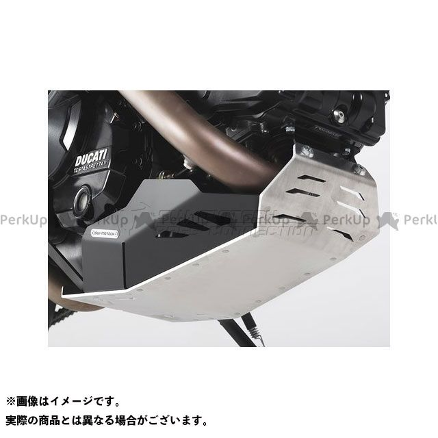 SWモテック ハイパーモタード ハイパーストラーダ エンジンガード ブラック/シルバー Ducati Hyperstrada/Hypermotard SW-MOTECH