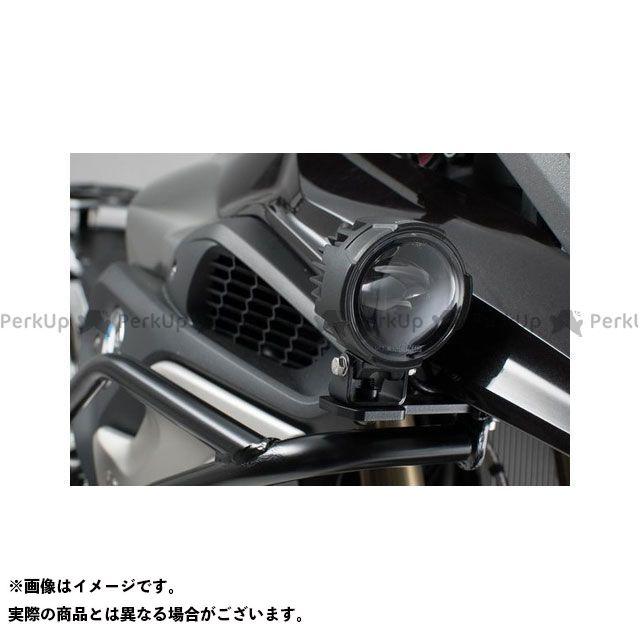 SWモテック R1200GS Light mounts f. orig. BMW フォッグライト ブラック BMW R1200GS LC(13-)/Rally(17-)|NSW.0 SW-MOTECH