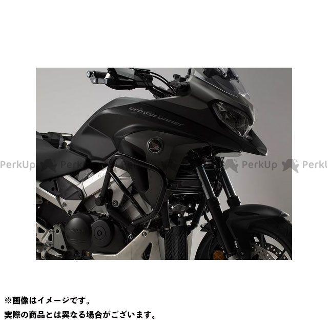 【エントリーで更にP5倍】SWモテック VFR800X クロスランナー クラッシュバー ブラック、Honda VFR 800 X Crossrunner(15-) SW-MOTECH