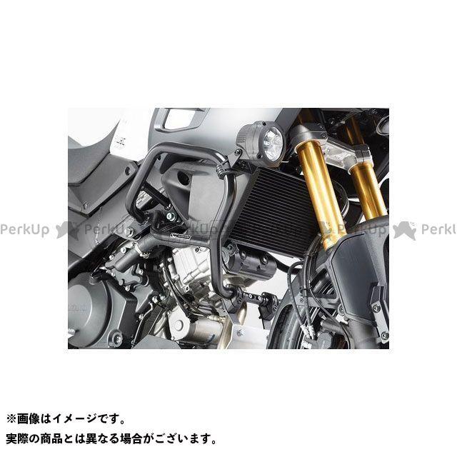 【エントリーで更にP5倍】SWモテック Vストローム1000XT クラッシュバー ブラック Suzuki V-Strom 1000(14-)左右セット SW-MOTECH