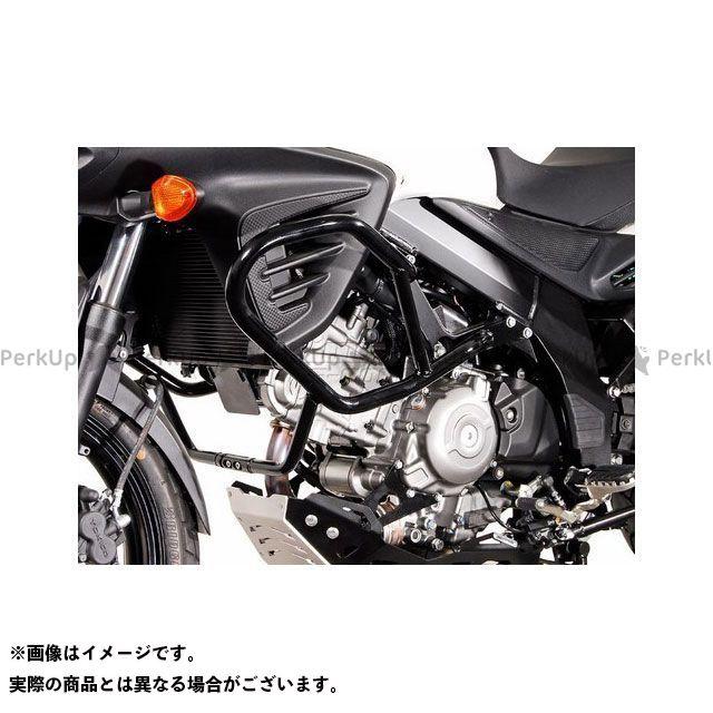 【エントリーで更にP5倍】SWモテック Vストローム650XT クラッシュバー -ブラック- SW-MOTECH