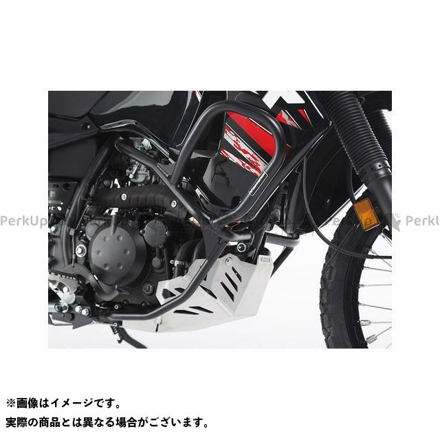【エントリーで更にP5倍】SWモテック KLR650 クラッシュバー ブラック Kawasaki KLR 650(08-) SW-MOTECH
