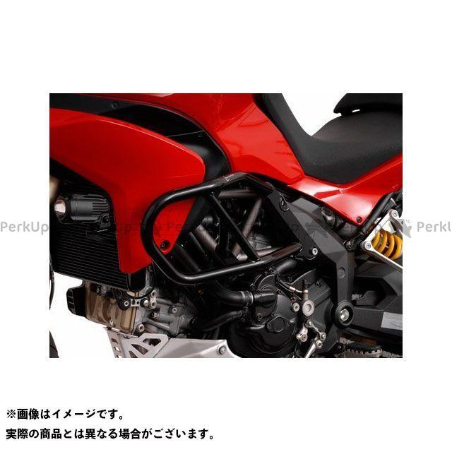 【エントリーで更にP5倍】SWモテック ムルティストラーダ1200 ムルティストラーダ1200S クラッシュバー ブラック SW-MOTECH