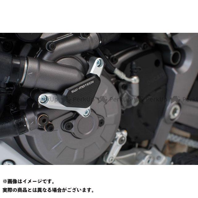 SWモテック ウォーターパンプ プロテクション -シルバー/ブラック- Ducati models. SCT.22.114.10001 SW-MOTECH