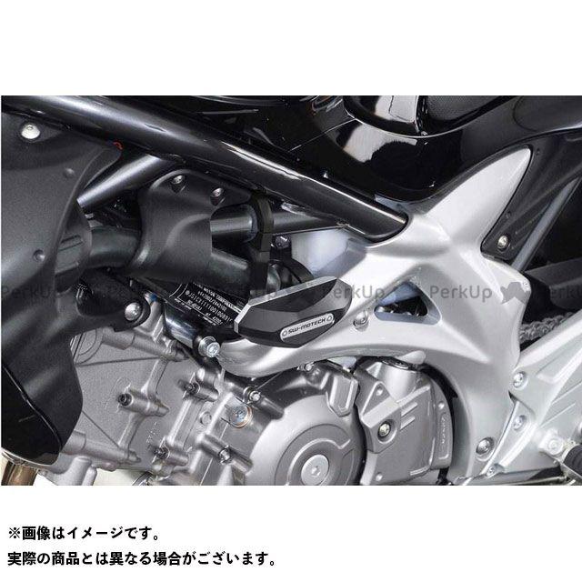 【エントリーで最大P21倍】SWモテック グラディウス650 SV650 SV650X クラッシュパッドキット SUZUKI SFV 650(09-)ブラック SW-MOTECH