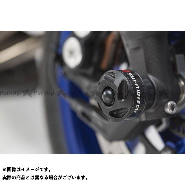 SWモテック MT-09 トレーサー900・MT-09トレーサー XSR900 フロント アクスルスライダーキット、ブラック、Frame Slider/bike-specific mounting、In pairs SW-MOTECH