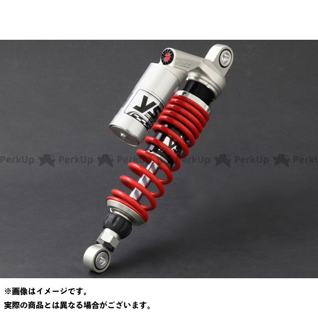 YSS その他のスポーツスター Sports Line G-Series 366ボディー 330mm/13.0inc シルバー レッド YSS RACING