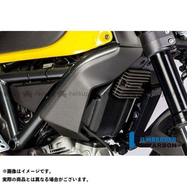 イルムバーガー ラジエーターカバー 右 マット Ducati Scrambler 16   WKR.103.DS15M.K ILMBERGER