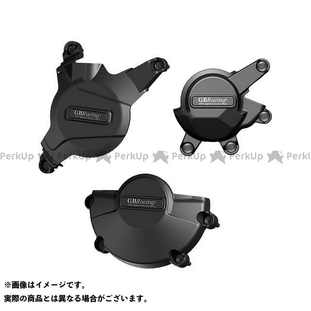 【エントリーで更にP5倍】GBレーシング CBR600RR RACE KIT Engine Cover Set | EC-CBR600-2008-SET-K-GBR GBRacing