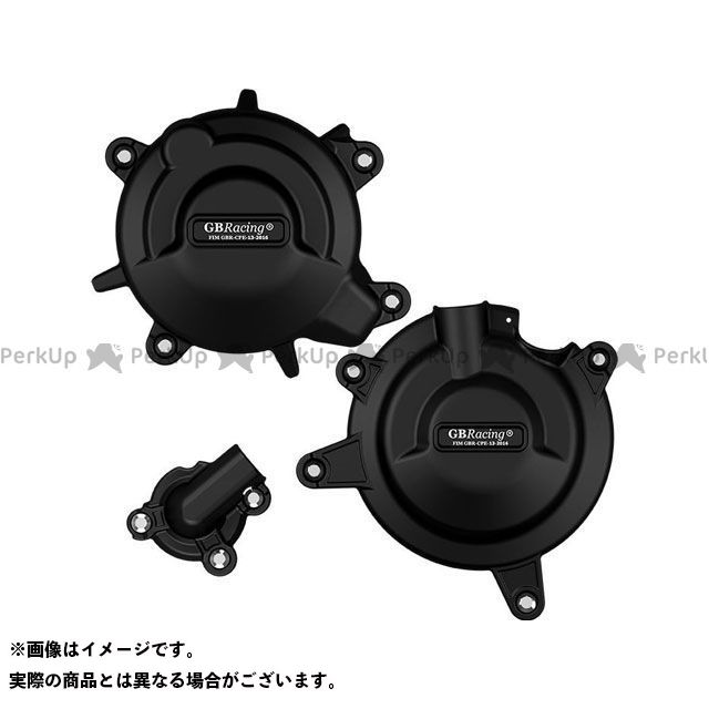 【エントリーで更にP5倍】GBレーシング ニンジャ400 Secondary Engine Cover Set | EC-ZXR400-2018-SET-GBR GBRacing