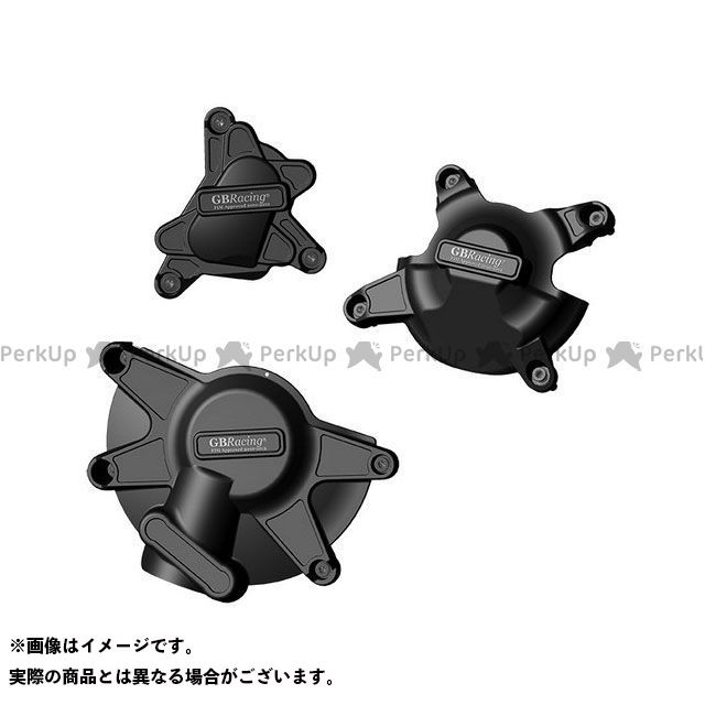 【無料雑誌付き】【特価品】GBレーシング YZF-R1 RACE KIT Engine Cover Set | EC-R1-2009-SET-K-GBR GBRacing