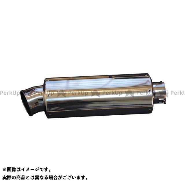 ホットラップ 汎用 サイレンサー SUS オーバル中(ストレート) Φ76.3 サイズ:300mm HOT LAP