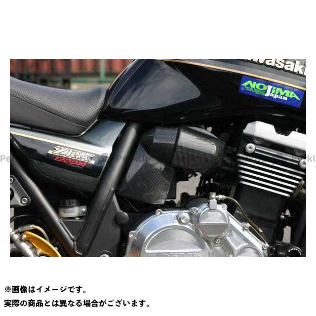 ノジマ ZRX1200ダエグ インジェクターカバー カーボン ZRX1200DAEG 09-16 NOJIMA
