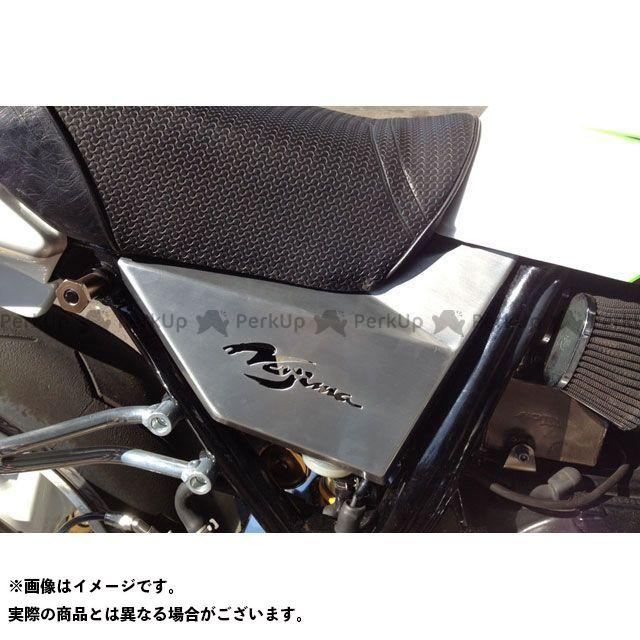 【エントリーで更にP5倍】ノジマ ZRX1100 ZRX1200R ZRX1200S アルミサイドカバー ヘアライン/塗装なし ZRX1200R/S/1100 NOJIMA