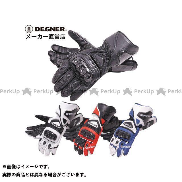【エントリーで更にP5倍】DEGNER RG-10 レーシンググローブ(ブラック) サイズ:XL デグナー