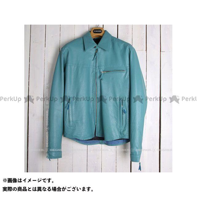 DEGNER SRS-4 レザーシャツ(ターコイズ) サイズ:M デグナー