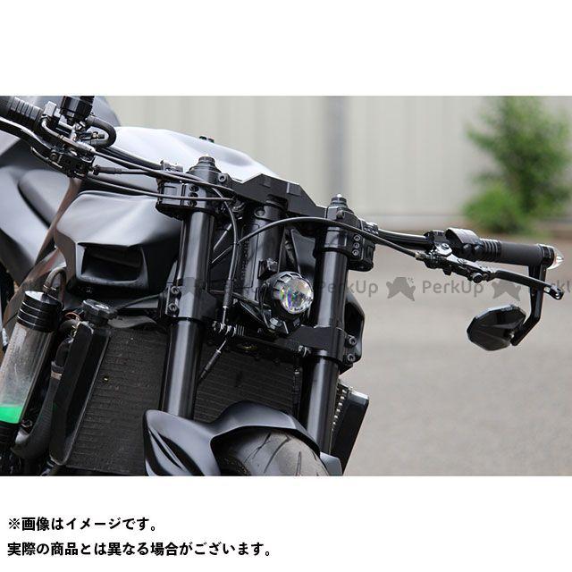 G-zac 汎用 LEDヘッドライト デュアルセイバー(マットブラック) G-zac