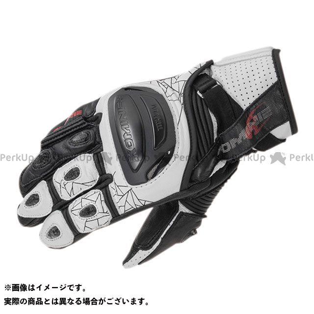 【エントリーで更にP5倍】コミネ 2020春夏モデル GK-236 チタニウムスポーツグローブ(ホワイト/ブラック) サイズ:S KOMINE