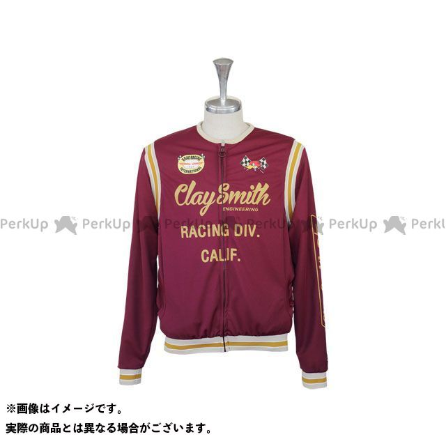 Clay Smith 2020春夏モデル CSY-0604 TOUGHTY ジャージ(レッド) サイズ:L クレイスミス