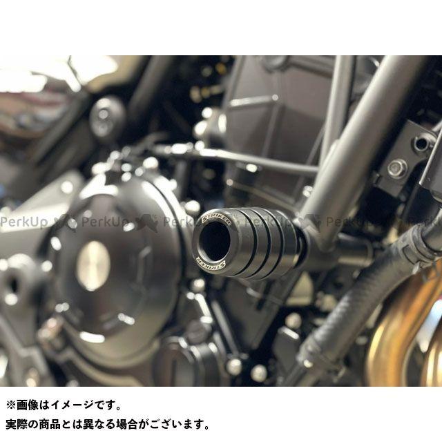 ストライカー ニンジャ650 ガードスライダー 17-19 NINJA650 シルバー/ブラック STRIKER
