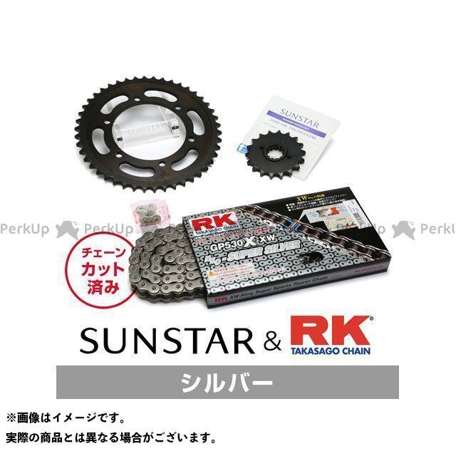 【特価品】サンスター ニンジャ900 KR5C516 スプロケット&チェーンキット(シルバー) SUNSTAR